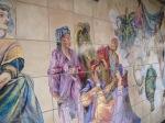 巴世底地鐵站內的壁畫