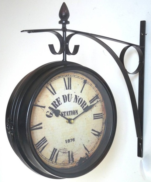 horloge indutriel