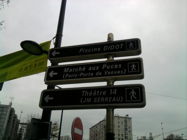 散步巴黎民宿--Vanves 跳蚤市場