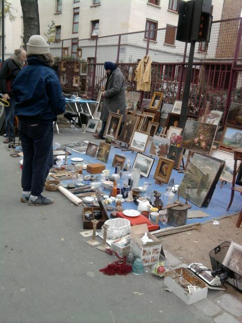 散步巴黎民宿--跳蚤市場篇