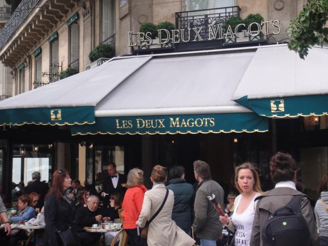 巴黎左岸--雙叟咖啡