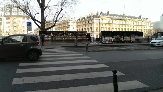 散步巴黎民宿&塞納河畔的綠盒子