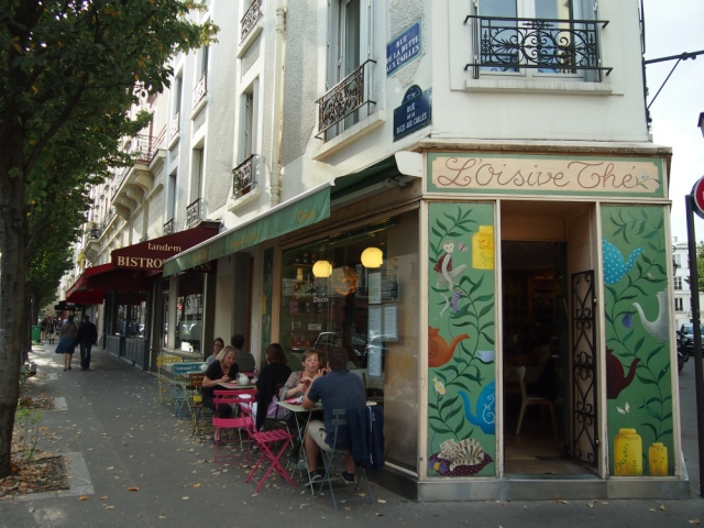 散步巴黎民宿 & 這間茶店L'oisive téa 在這個巴黎村是當地人的最愛