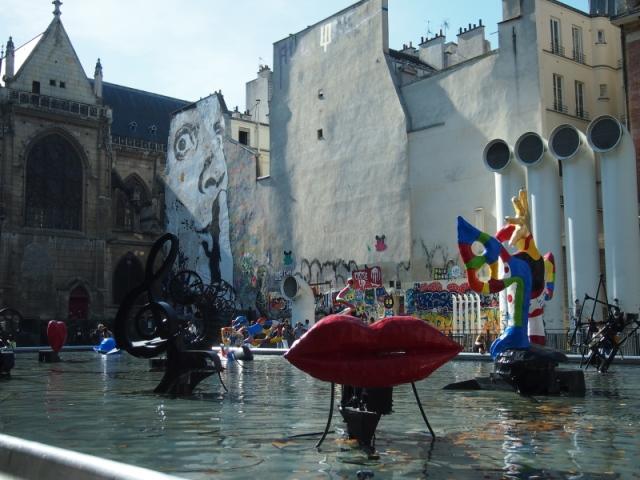 散步巴黎民宿 & 龐畢度街頭藝術