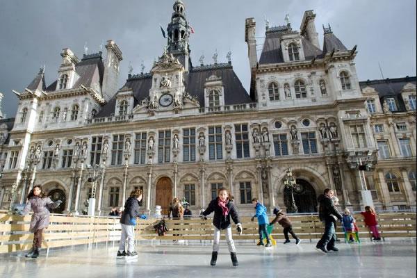 散步巴黎民宿§ 巴黎市政府溜冰場