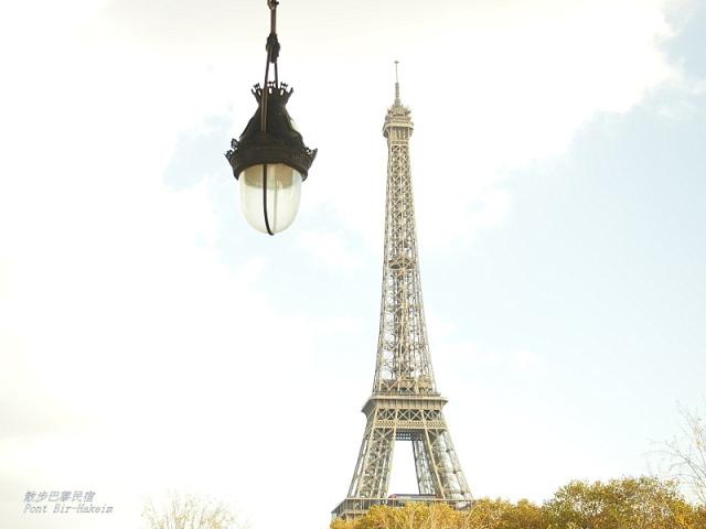 散步巴黎民宿 § Pont Bir-Hakeim 及遠眺可及的愛菲爾