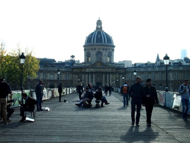 散步巴黎民宿 § Pont des Arts 巴黎藝術橋