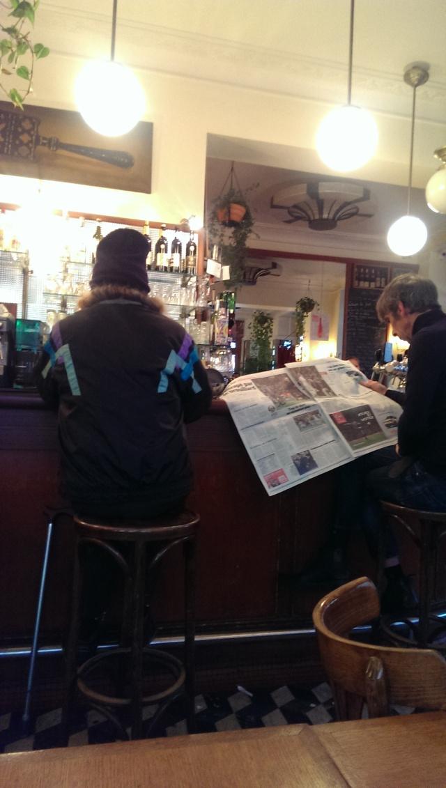 散步巴黎民宿§ 流浪漢的一杯咖啡
