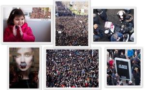 法國2015/1/10 全國370萬人的接頭遊行 § 散步巴黎民宿