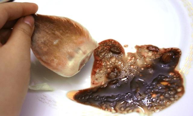 散步巴黎民宿 § 朝蘚薊最外面的葉子霑自己調的油醋醬