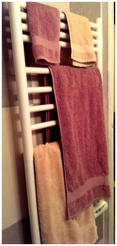 散步巴黎民宿的暖器加烘毛巾器