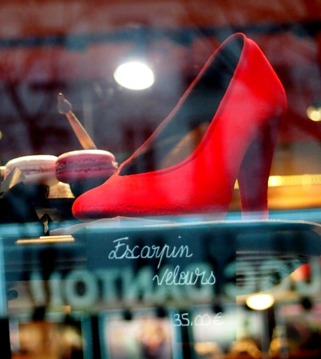 Georges Larnicol 巧克力大師的紅色高跟鞋巧克力