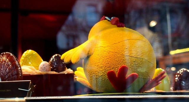 Georges Larnicol 巧克力大師的黃色小雞