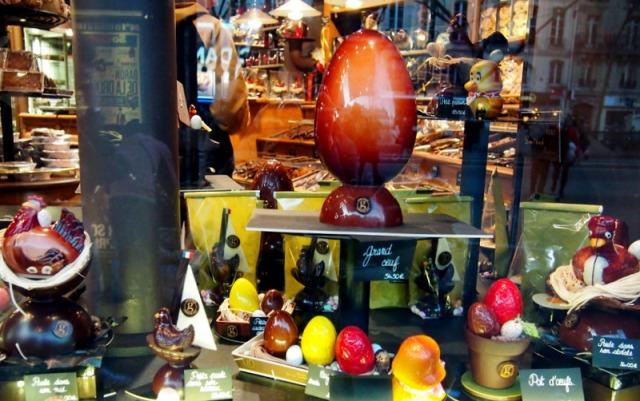 復活節的彩蛋巧克力