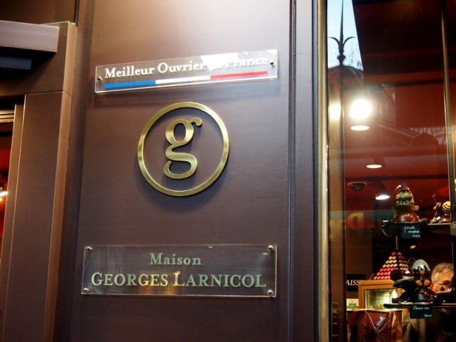 Georges Larnicol 巧克力大師專賣店 § 散步在巴黎