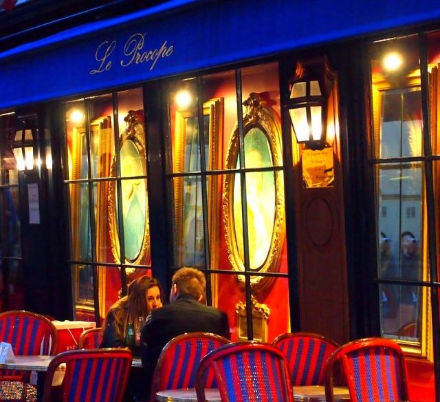 Le procope  三百多年歷始--巴黎最股老的咖啡館之一