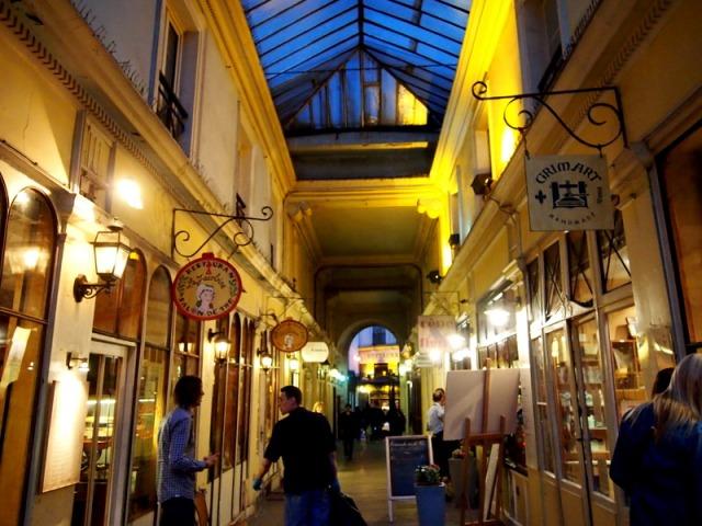 Cour du commerce St. Andre長廊 § 散步巴黎民宿