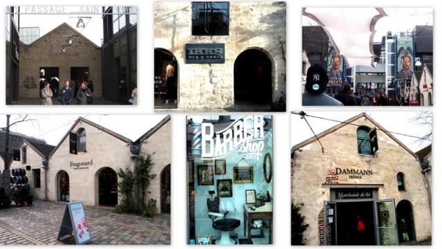 Bercy village的商店街