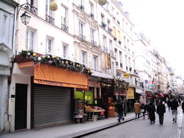 rue Montorgueil 入口 --散步巴黎