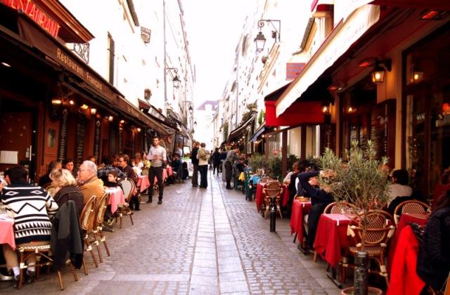 rue de mouffetard § 散步巴黎