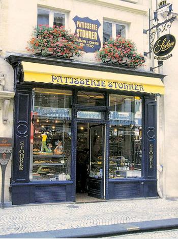 200多年歷史的Patisserie stohrer  -- 散步巴黎