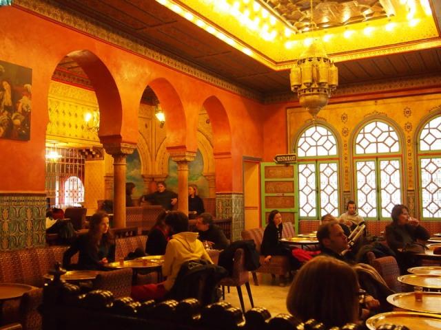 巴黎異國餐廳---Grande Mosquee de paris