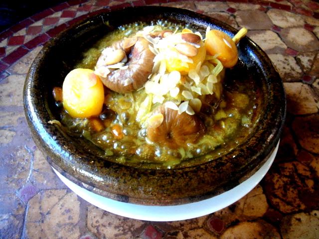 散步巴黎異國餐廳--Tarjin 北非的塔井