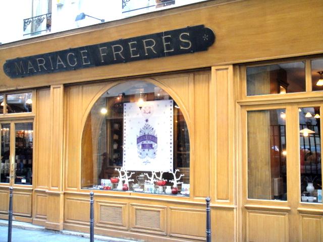 散步巴黎--瑪黑兄弟百年茶館旗艦店