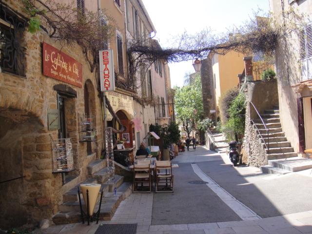 村落的主要街道