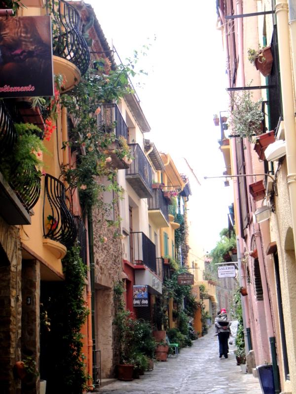 collioure --法國西南畫家漁村