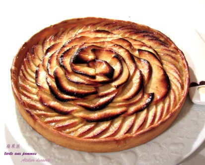 tart aux pommes